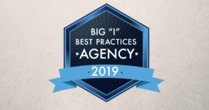 big i best practices agency badge