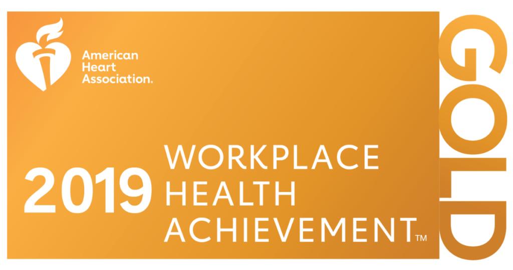 workplace health achievement banner