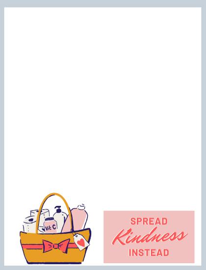 spread kindness notecard